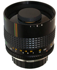 Makinon 300mm f/5.6 Mirror lens