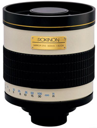 Rokinon 800mm f/8 HD